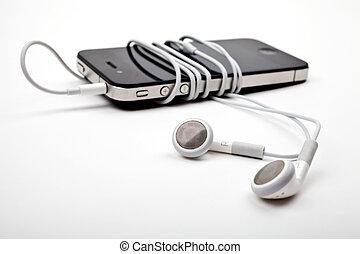Earphones / Headphones and Music Player