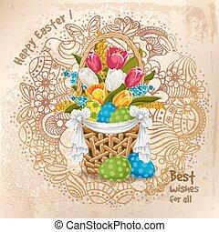 Easter greeting design