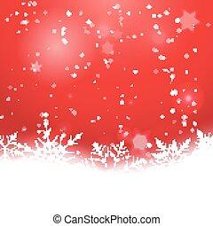 Elegant Christmas background with snowflakes