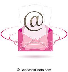 Envelope icon. vector illustration