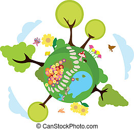 environment earth background to be used for greenery, environmental stuff and others
