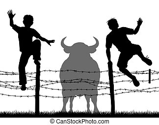 Escaping the bull