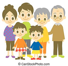 Family, vector file
