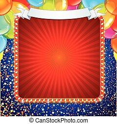 Festive Celebration Sign Design