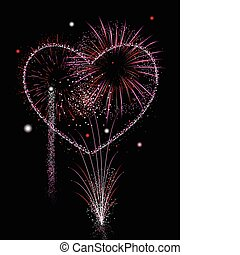 Fireworks of love