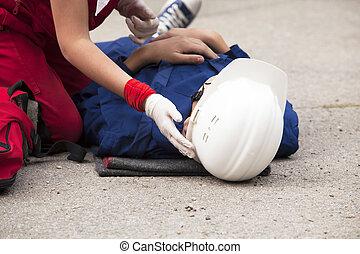 Work accident
