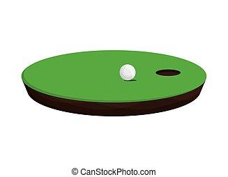 golf hole icon