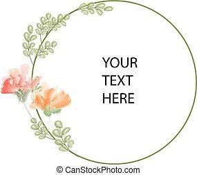 Floral copyspace