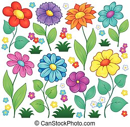 Flower theme collection 7