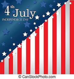 fourth july flag