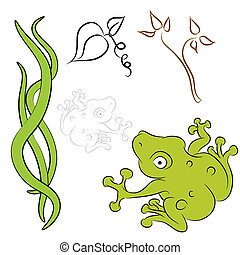 Frog Vine Natural Elements