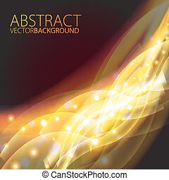 Futuristic abstract glowing background.