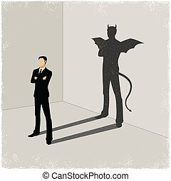 shadow in vector