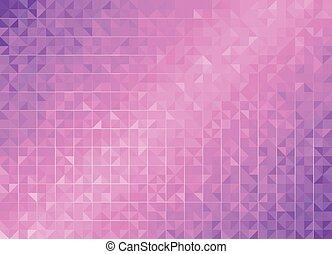 Geometric Purple Backgrounds.