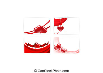 gift card templates with hearts