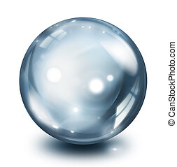 glass sphere pearl