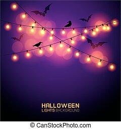Glowing Halloween Lights