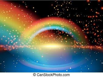 Glowing Rainbow