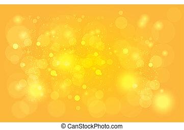 Glowing Yellow Backgroun