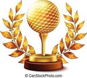 Golden golf award