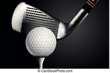 Golf Realistic Background