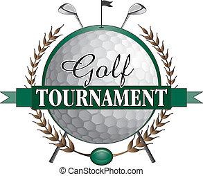 Golf Tournament Clubs Design