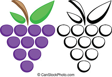 Grapes symbols