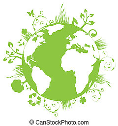 Green and clean earth