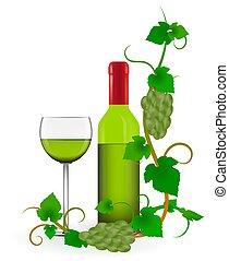 Green Grape Vines Frame