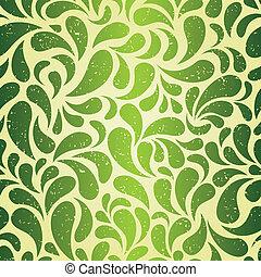 Grunge seamless background for St. Patrick's Day. EPS 8 vector illustration