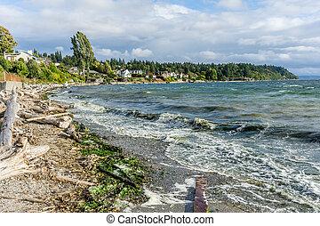 Green Water Seascape 2