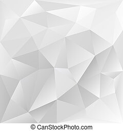 grey polygonal texture, corporate background