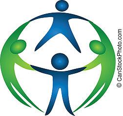 Group of team logo vector eps10