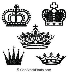 Grunge Crowns