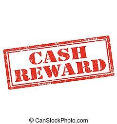 Grunge rubber stamp with text Cash Reward, vector illustration