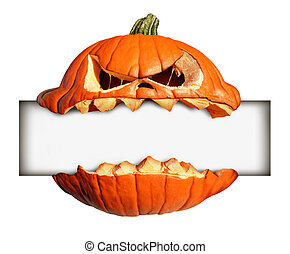 Halloween Blank Sign