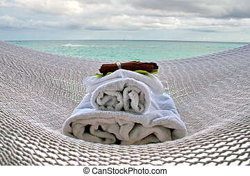 hammock and spa