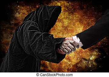 Handshake with reaper