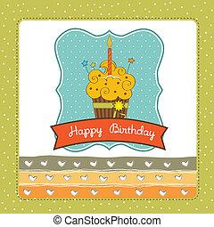 Happy Birthday cupcake