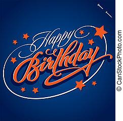 HAPPY BIRTHDAY (vector)