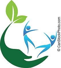 Happy Healthy people logo