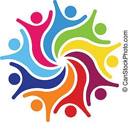 Happy Team 9 Logo vector