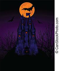 Haunted Castle invitation card