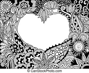 heart floral