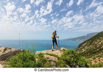 Hike in Crimea