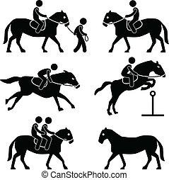 Horse Riding Jockey Equestrian