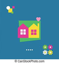 housewarming greeting card