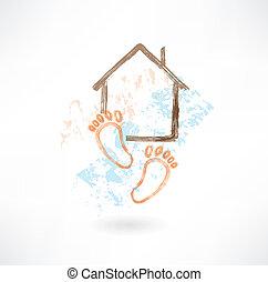 housewarming grunge icon