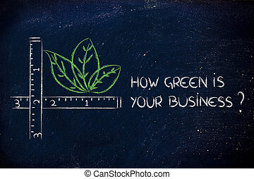 how green is your business?