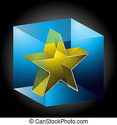 Ice Encased Star